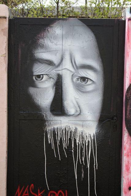 Street Art Par Naskool - Klagenfurt (Autriche)