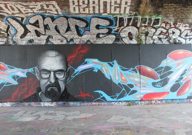 Fresques Par Naskool - Londres (Royaume Uni)