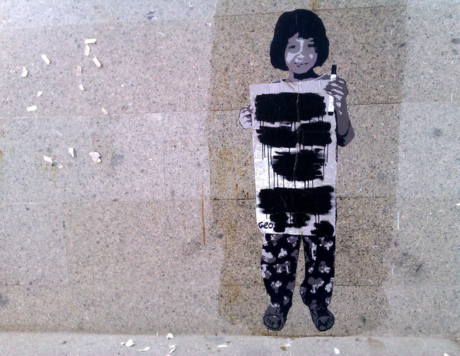 Street Art Par Geo Crew - Teheran (Iran)