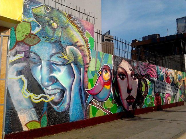 Street Art Par El Raf - Lima (Perou)