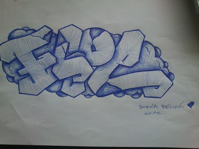 Sketch Par Ecoe - Zagreb (Croatie)