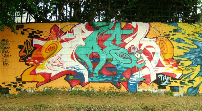 Fresques Par Orek - Managua (Nicaragua)