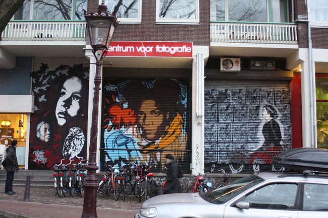 Fresques Par Bustart - Amsterdam (Pays-Bas)