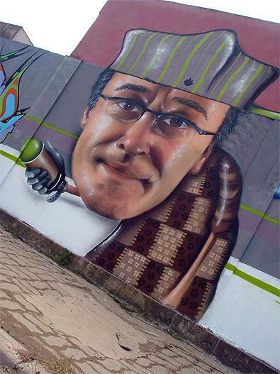 Personnages Par Aqi Luciano - Vila Velha (Bresil)