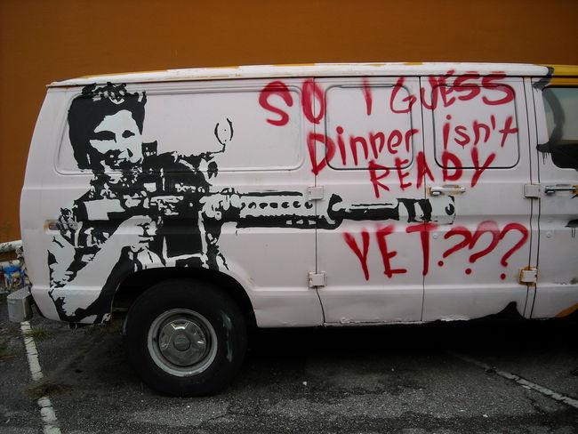 Street Art Par Priest - Mobile (AL)
