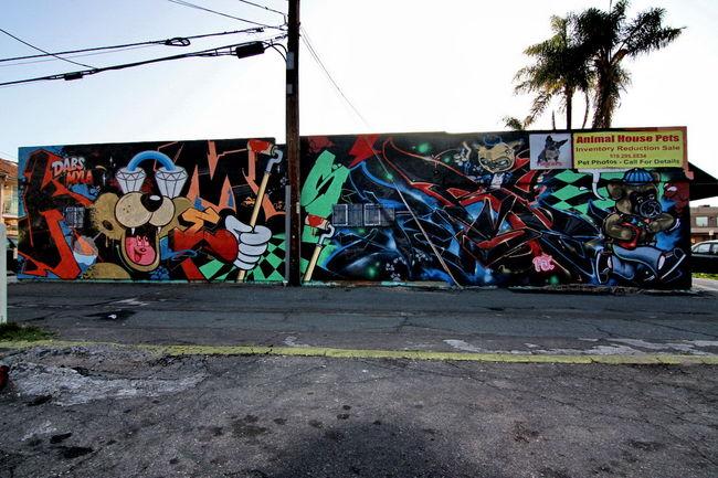 Fresques Par Rime, Dabs, Myla - San Diego (CA)
