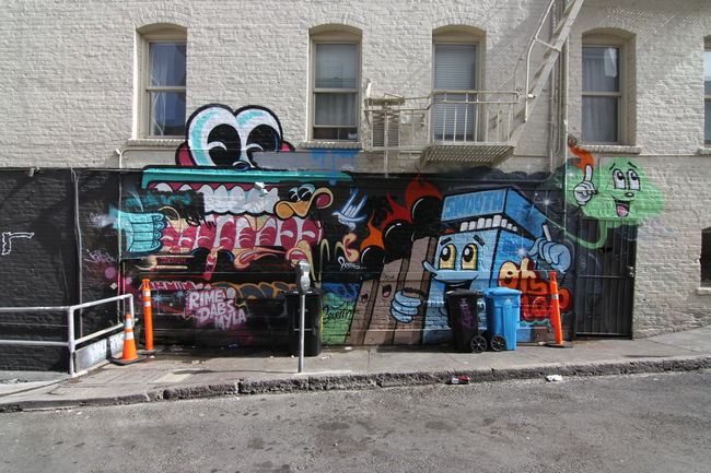 Fresques Par Rime, Dabs, Myla - San Francisco (CA)