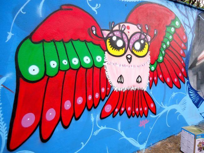 Fresques Par Lola Cauchick - Ribeirao Preto (Bresil)