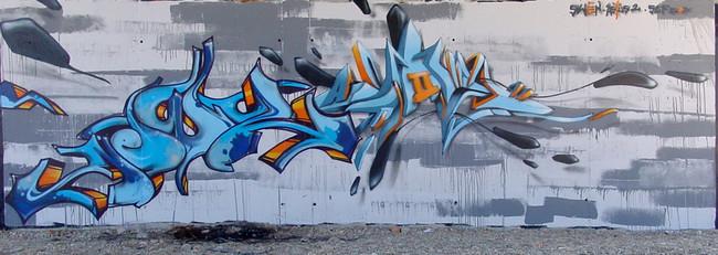 Big Walls By Astustwo, Wens - Perpignan (France)