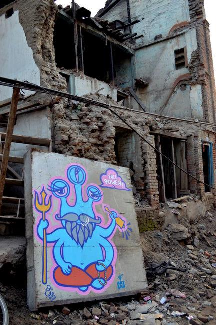 Personnages Par Deadline - Katmandou (Nepal)