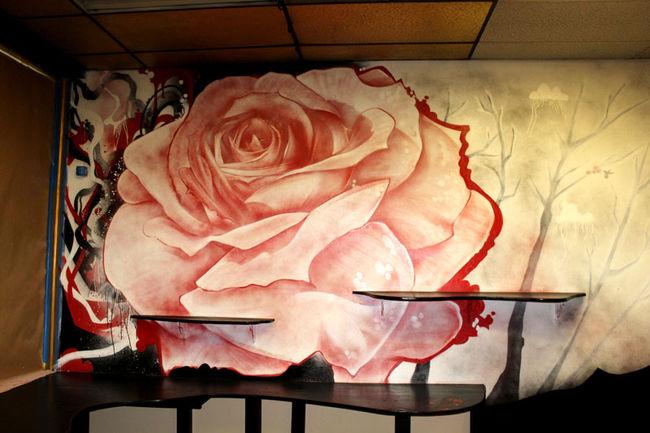 Street Art Par Crayone - Oakland (CA)