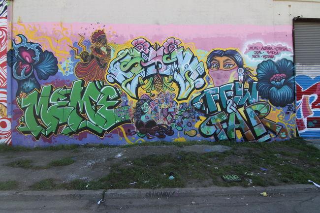 Fresques Par Meme, Agana - Oakland (CA)