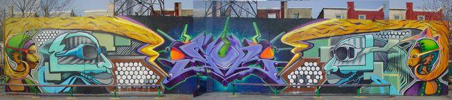 Street Art Par Maxx Moses - Philadelphie (PA)