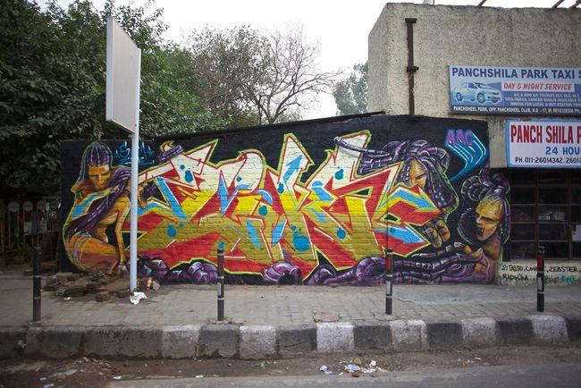 Piece Par Zine, Sam Sam - New Delhi (Inde)
