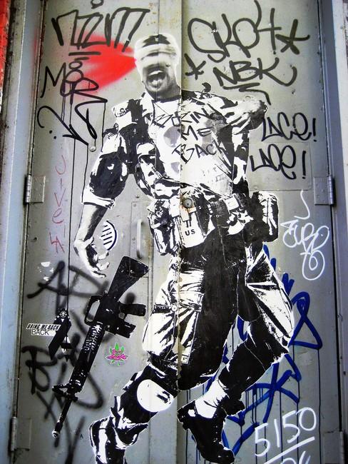 Street Art By Wk - New York City (NY)