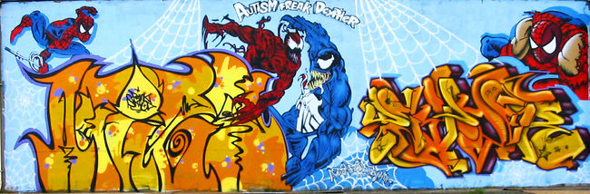 Street Art Par Freak. - Christchurch (Nouvelle-Zelande)