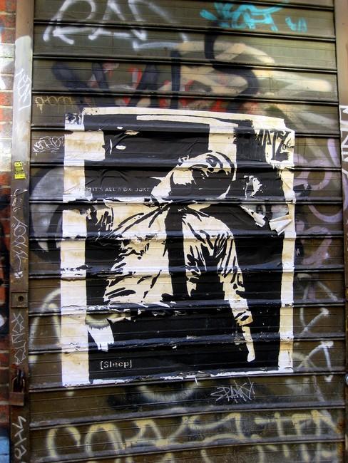 Street Art By Sleep - New York City (NY)