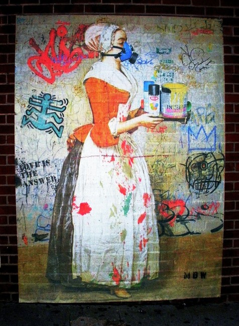 Street Art By Mbw - New York City (NY)