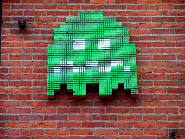 Street Art By Space Invaders - New York City (NY)