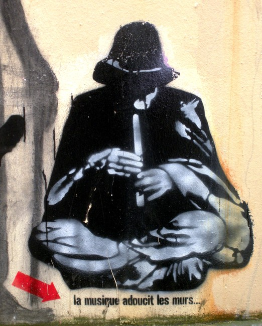 Street Art Par Jef Aerosol - Paris (France)