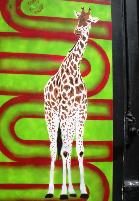Street Art Par Mosko  - Paris (France)