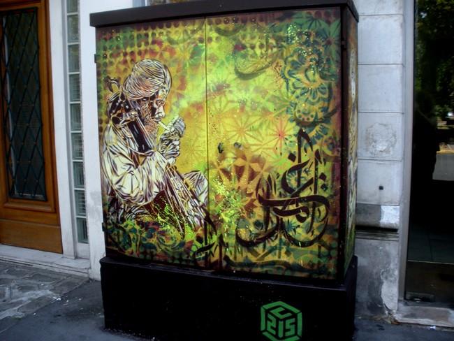 Street Art By C215 - Paris (France)
