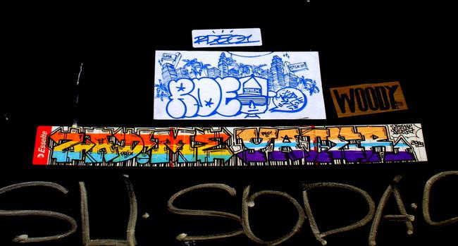 Street Art By Rdeo, Zadim, Yacer - Paris (France)