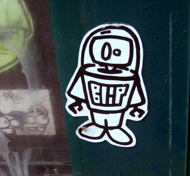 Street Art Par Blip - Philadelphie (PA)