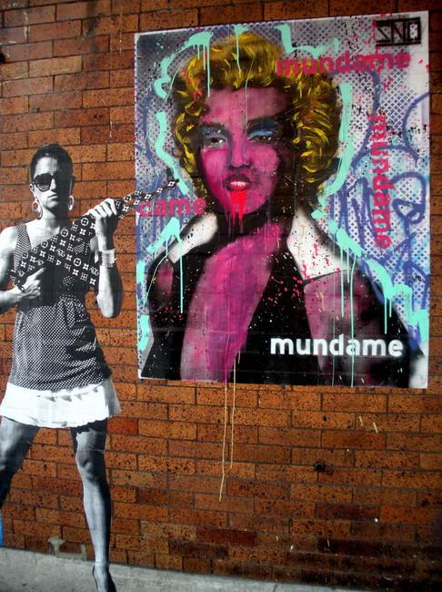 Street Art By Mundame - Philadelphia (PA)