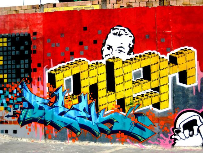 Piece Par Bleek - Bogota (Colombie)