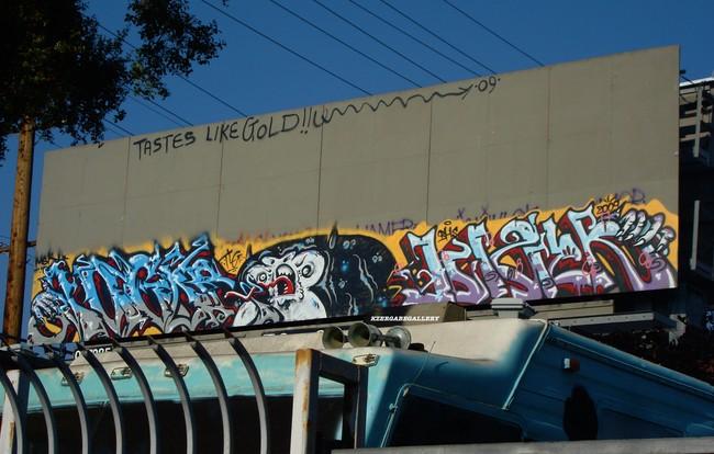 Big Walls By Augor, Dizer - Los Angeles (CA)