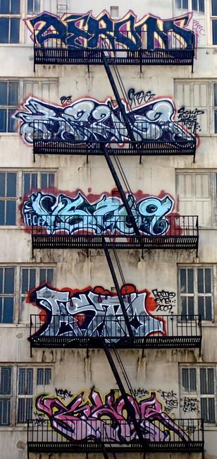 Piece By Esto, Squid, Versuz - Los Angeles (CA)