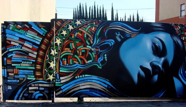 Personnages Par El Mac - Los Angeles (CA)