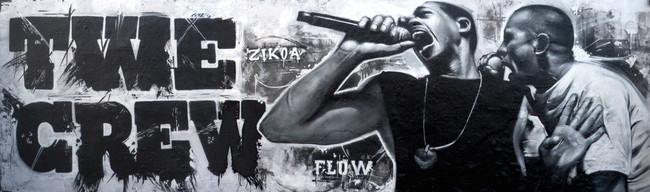 Fresques Par Flow, Zikoa - Bayonne (France)