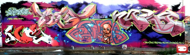 Fresques Par Aien, Solo - Toulouse (France)