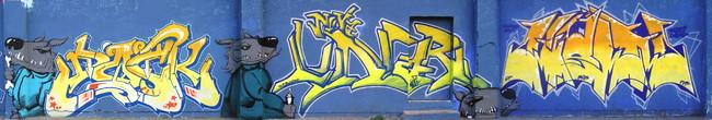 Fresques Par Lunar, Dock, Jelt - Zagreb (Croatie)