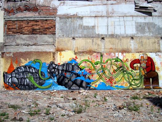 Big Walls By Nosm, How - Rio De Janeiro (Brazil)