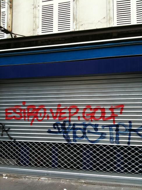 Tags Par Drag, Golf  - Paris (France)