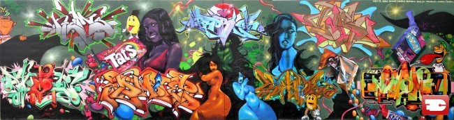 Big Walls By Biz20, Kem5, Bamboo2, Odesy, Nosm - Boston (MA)