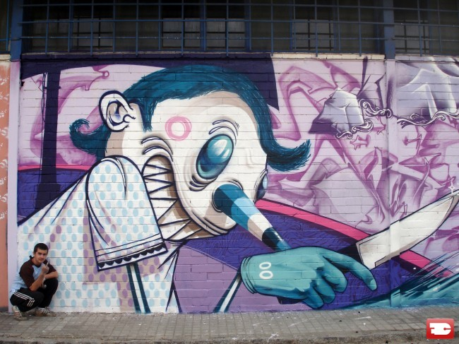 Characters By Escif - Valenza (Spain)