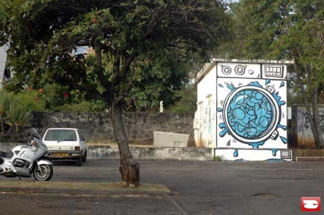 Street Art By Jace - Saint-Denis (Reunion)