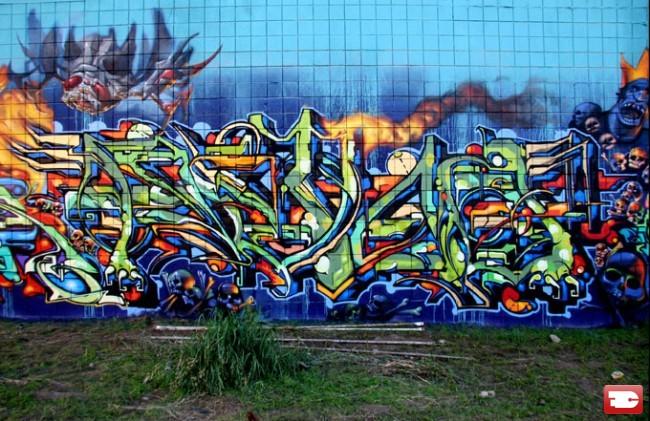 Piece Par Retna - Los Angeles (CA)