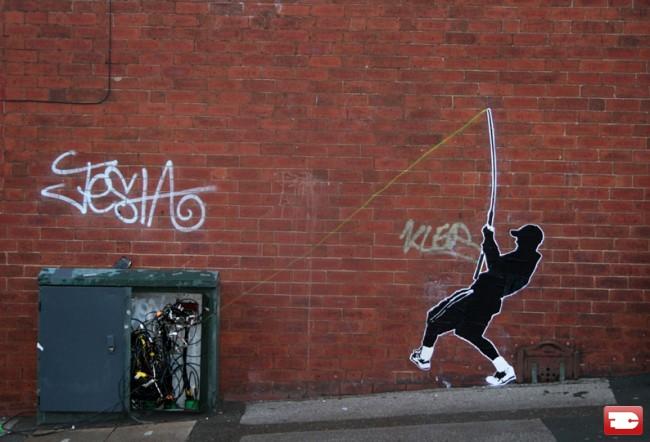 Street Art By Final Frontier - London (United Kingdom)