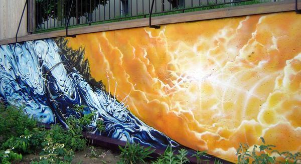 Big Walls By Sly2 - Paris (France)