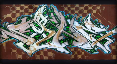 La roche sur yon france street art and graffiti fatcap - City zebre la roche sur yon ...