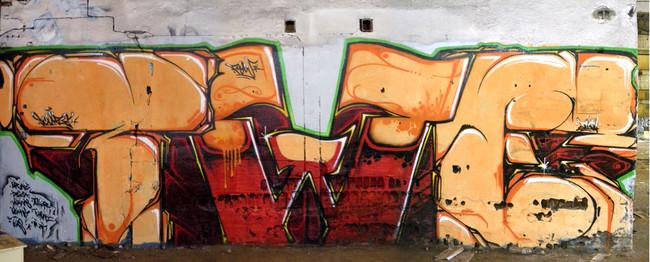Piece By Flow, Skuze, Zikoa - Labenne (France)