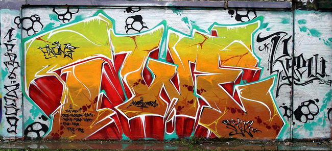 Piece Par Skuze, Arone - Paris (France)