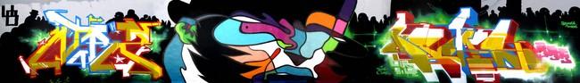 Fresques Par Sozy, Dems, Atrz - Bruxelles (Belgique)