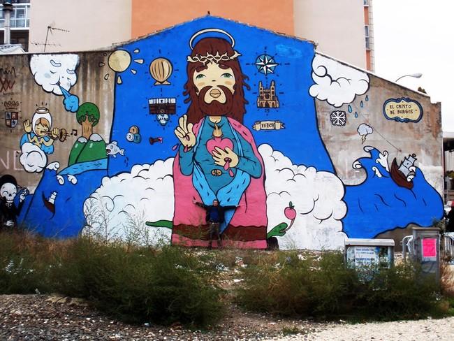 Street Art Par Tvboy - Burgos (Espagne)