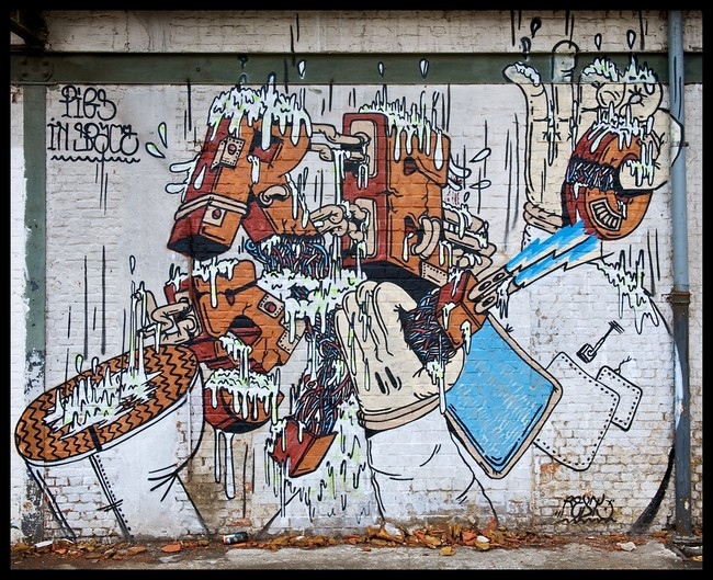 Piece By Resto - Doel (Belgium)